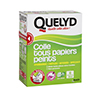 QUELYD COLLE TOUS PAPIERS PEINTS INDICATEUR COLORE EN ETUI DE 300 GR