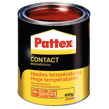 PATTEX CONTACT HAUTE TEMPERATURE EN BOITE DE 650 GR