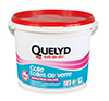 QUELYD COLLE TOILES DE VERRE AVEC INDICATEUR COLORE EN SEAU DE 5 KG