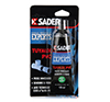 SADER COLLE TUYAUX PVC EN TUBE DE 125 ML