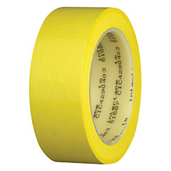INTERTAPE 51587 JAUNE LARGEUR 6 MM EN ROULEAU DE 66 M