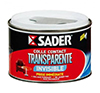 SADER COLLE CONTACT TRANSPARENTE EN BOITE DE 250 ML