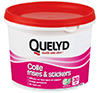 QUELYD COLLE FRISES ET STICKERS EN POT DE 500 GR