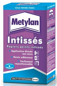 METYLAN COLLE PAPIERS PEINTS INTISSES EN PAQUET DE 200 GR