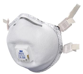masque anti poussiere 3m jetable
